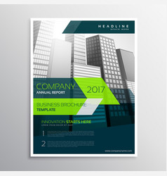 modern company brochure template design vector image vector image