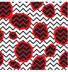 abstract seamless pattern dotted line texture dot vector image