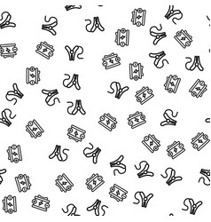 auto car charge battery clamp seamless pattern vector image