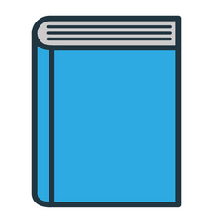 book close read vector image