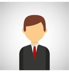 business person avatar design vector image