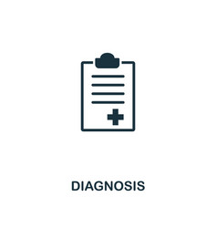 diagnosis icon premium style design from vector image