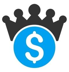 Financial Power Icon vector image