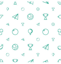 game icons pattern seamless white background vector image
