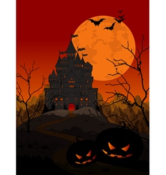 Halloween Kingdom vector image vector image