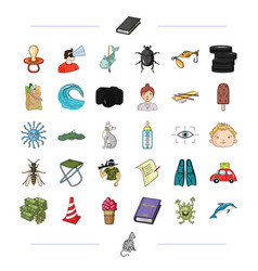 Leisure business hunting and other web icon in vector