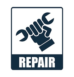 repair design vector image