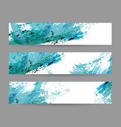set banner templates vector image