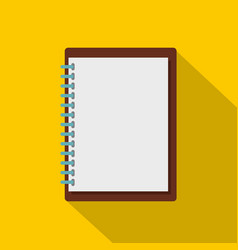 sketchbook icon flat style vector image
