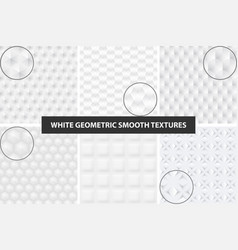 smooth seamless textures vector image