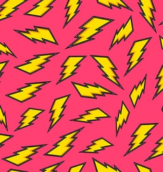 Retro bolt stitch patch icon seamless background vector image vector image