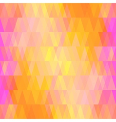 Colorful seamless pattern of geometric shapes vector image vector image