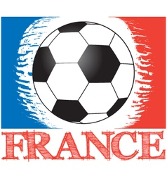 football championship in france vector image