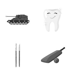 Army history and other monochrome icon in cartoon vector