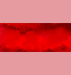 Abstract horizontal background design with red vector