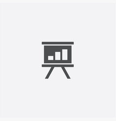 board diagram icon vector image