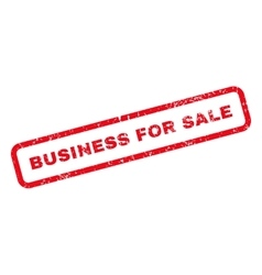 Business For Sale Text Rubber Stamp vector