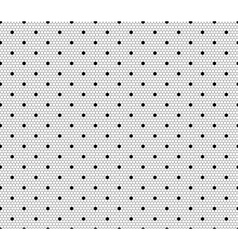 Dot Lace Pattern vector