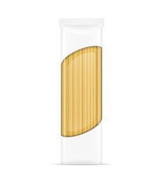 pasta in packaging 04 vector image