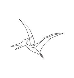 Single continuous line drawing aggressive vector