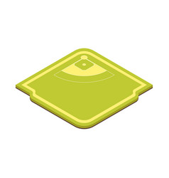 soccer or baseball playing field concept 3d vector image