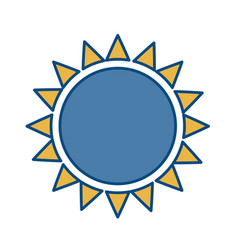 Sun icon image vector