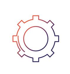 line technology web tools symbol icon vector image