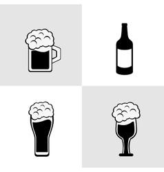 Beer product design vector image vector image