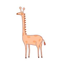 A giraiffe vector
