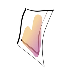 A handkerchief vector