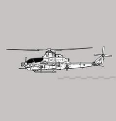 Bell ah-1z viper vector