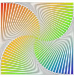 Design multicolor swirl movement background vector