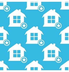 Favorite house pattern vector