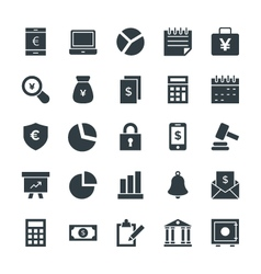Finance Cool Icons 1 vector image