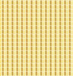 gold tile pattern vector image