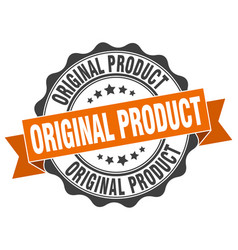 Original product stamp sign seal vector