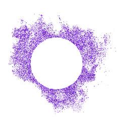 Purple explosion confetti vector
