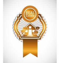 real estate company vector image