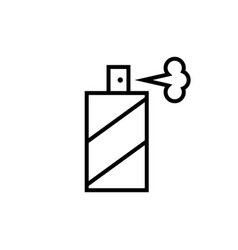 Spray bottle line icon graphic elements for your vector