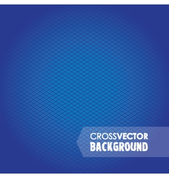 cross background blue vector image