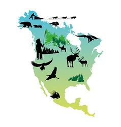 American Indian Reservations vector image