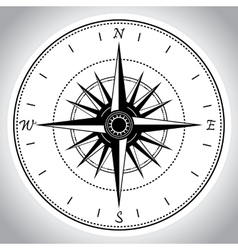 Compass device design eps 10 vector image