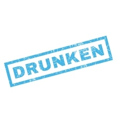 Drunken Rubber Stamp vector
