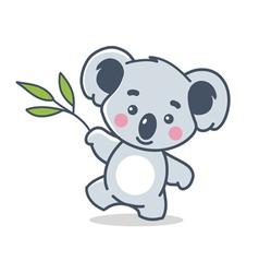 Funny koala vector