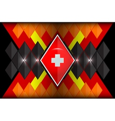 Geometric shapes germany vector