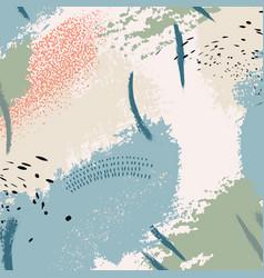green blue otange fluid art applicable for design vector image