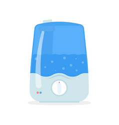 humidifier for home ultrasonic humidifier air vector image