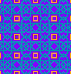 purple geometric pattern vector image
