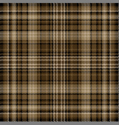Tartan plaid pattern seamless print fabric vector