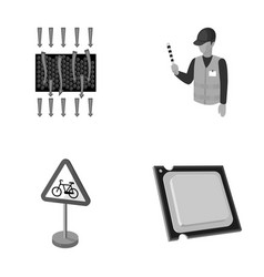 Transport chemistry and other monochrome icon in vector